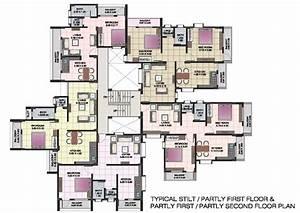 Floor, Plans, Loft, Apartments, Apartment, Complex, Clubhouse
