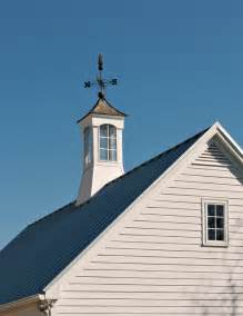 Houses with Cupolas and Weathervanes