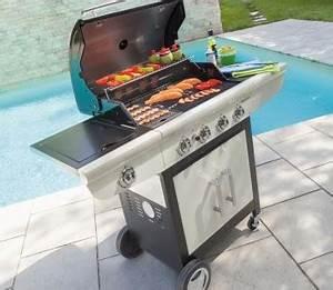 Barbecue En Pierre Mr Bricolage : barbecue gaz utilisation ~ Dallasstarsshop.com Idées de Décoration