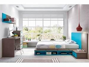 Chambre complete pour ado collection a prix fun so nuit for Robe de chambre enfant avec canapé futon japonais