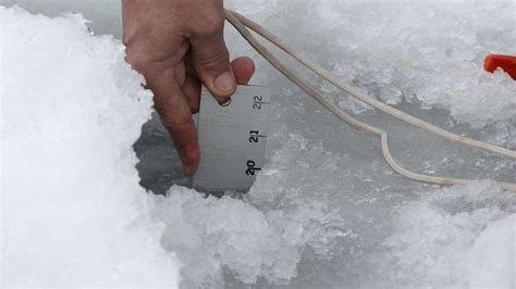 ice fishing extravaganza    successful ice check