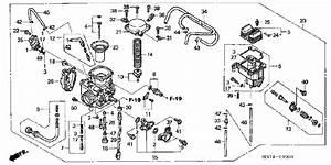 I Need A Diagram Of A Fuel System For Honda Trx400fa Four