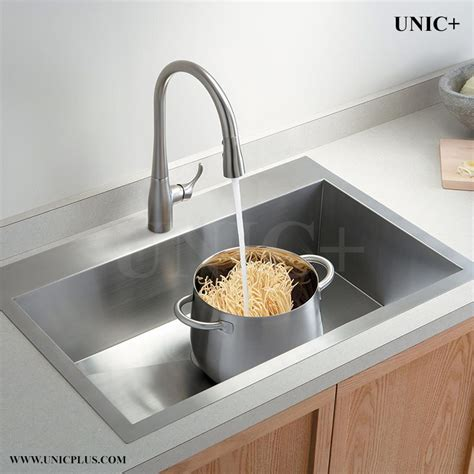 small sinks for kitchen 30 inch small radius stainless steel top mount kitchen 5548