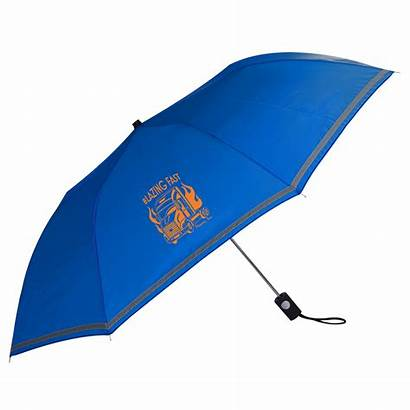 Umbrella Thru Folding Reflective Open Umbrellas Paraguas