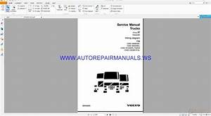 Volvo Fm Trucks Wiring Diagrams Service Manual 88956890