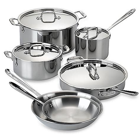 cookware stainless steel clad piece gordon ramsay royal doulton kitchen cooking pans sets costco bedbathandbeyond pots pan pc pot ndb