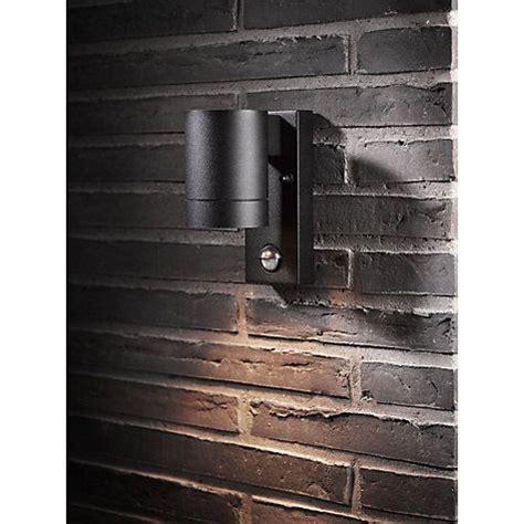 nordlux tin maxi pir outdoor sensor wall light black