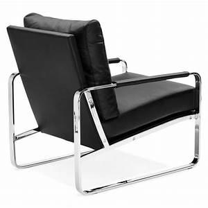 Fauteuil Relax Design Contemporain : fauteuil relax design et r tro julia noir ~ Teatrodelosmanantiales.com Idées de Décoration