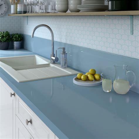 plan de travail salle de bain leroy merlin plan de travail stratifi 233 bleu baltique 3 brillant l 300 x p 65 cm ep 38 mm leroy merlin