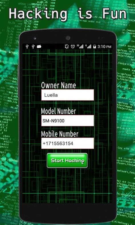 phone hacking apps mobile data hacker prank android apps on play
