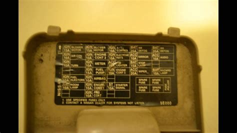 2013 Nissan Frontier Fuse Box Diagram by 1998 Nissan Altima Fuse Box Diagram Wiring Diagram And
