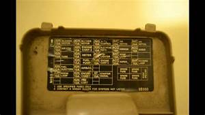 1998 Nissan Altima Fuse Box Diagram