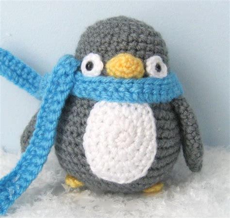 penguin crochet pattern  amy gaines