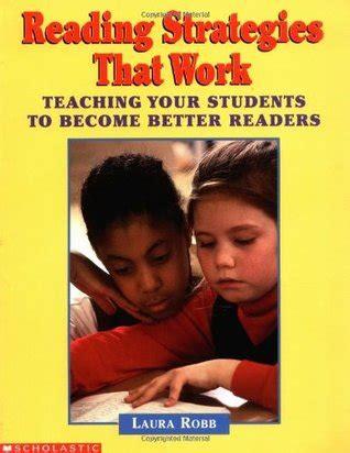 reading strategies  work teaching  students