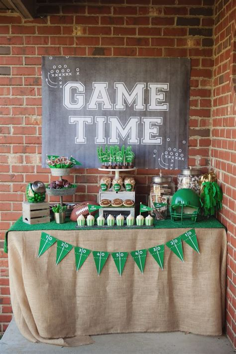 Kara's Party Ideas Tailgate Football Birthday Party  Kara. Home Depot Home Decor. Decorative Shelf Bracket. One Room Apartments For Rent. Cheap Wedding Reception Decorations. Decorative Pill Boxes. Birthday Party Decoration Ideas. Super Bowl Decorations. Vintage Nautical Decor