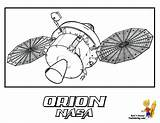 Space Coloring Orion Shuttle Print Craft Usa Nasa Pages Spacecraft Yescoloring Spectacular sketch template