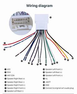 Diagram  Car Stereo Wiring Harness Audio Cable Plug Adapter For Wiring Diagram Full Version Hd
