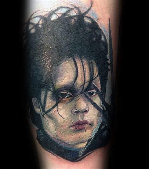 edward scissorhands tattoo designs  men  ink