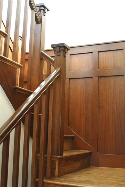 craftsman style stair railing 17 best ideas about craftsman staircase on 6253