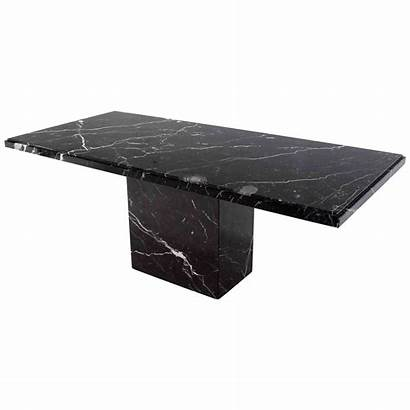 Marble Table Dining Pedestal Single Furniture Tables