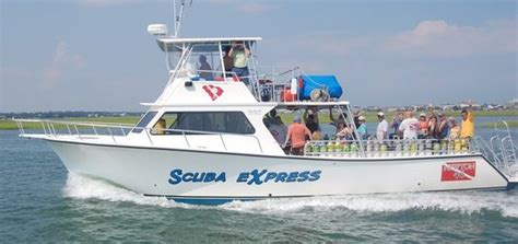 Newton 46 Dive Boat by Our Dive Boat Express