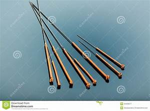 Acupuncture Needles Royalty Free Stock Photography - Image ...