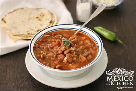 How To Make Charro Beans Soup  Authentic Mexican Charro Beans