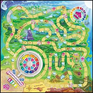 my little pony the game of life available on amazon mlp With the game of life template