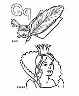 Quill Coloring Queen Pages Template Learning Letter Printable Word Quilling Doghousemusic Letters Sheets Fun Templates sketch template