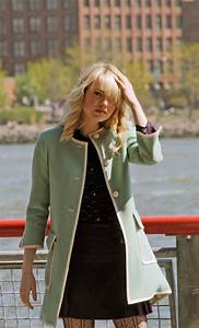 New Photos Show Emma Stone In Gwen Stacy's Infamous Green ...
