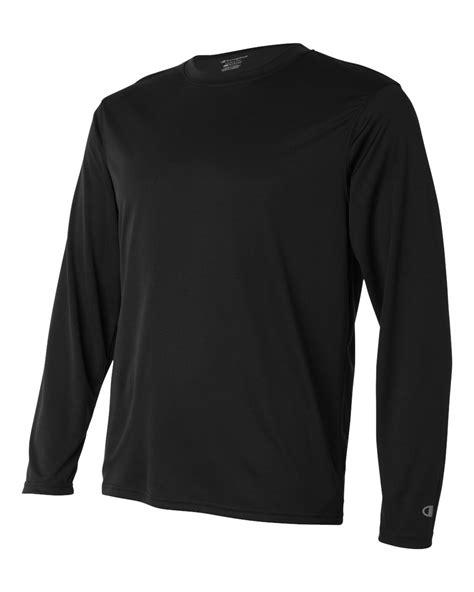 champion  oz double dry performance long sleeve  shirt
