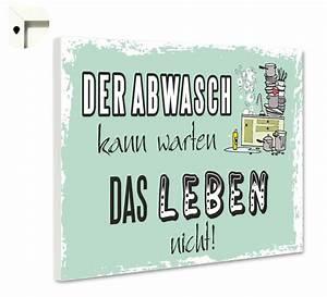 Magnettafel Pinnwand mit Spruch lustig Küche Abwasch eBay