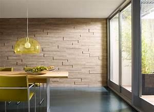 Wand Mit Bildern Gestalten : wand und decke stilvoll gestalten mit holzpaneelen ~ Markanthonyermac.com Haus und Dekorationen