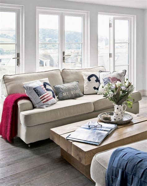 Create Smart New England Coastal Style In Your Living Room