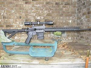 ARMSLIST - For Sale: 6x45 (6/223) Custom AR 15 with Black ...