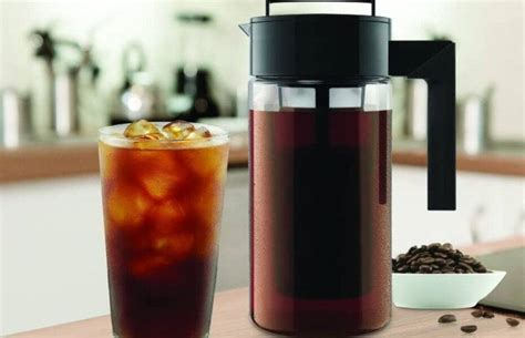 Takeya deluxe cold brew iced coffee maker with airtight lid & silicone handle, $20. Takeya 10310 Cold Brew Coffee Maker Review | Crazy Coffee Crave