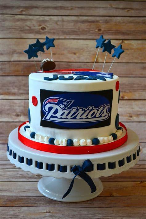 Tom Brady Patriots Birthday Cakes