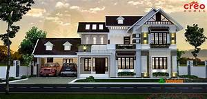 Double, Floor, Kerala, Home, Design, 3399, Sq, Ft