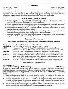 software engineer resume example resumes pinterest With resume samples for software engineers with experience