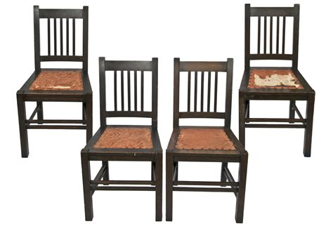 reclaimed dining table antique stickley quaint furniture wood dining chairs set