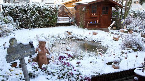 Garten Winterfest Machen Ab Wann by Gartenteich Winterfest Machen Wir Erkl 228 Ren Wie Es Geht