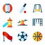 Playground Icons Vector
