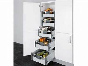 Amenagement Tiroir Cuisine : placard avec tiroirs cuisine boulanger verriere cuisine ~ Edinachiropracticcenter.com Idées de Décoration