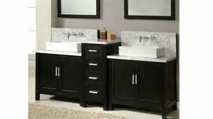 bathroom vanities built for wall mounted faucets