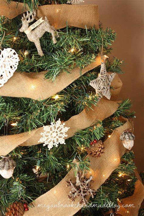 rustic christmas tree ornaments megan brooke handmade