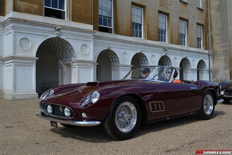Cars Posters 250gt by Salon Prive 2013 250 California Spyder Lwb Wins