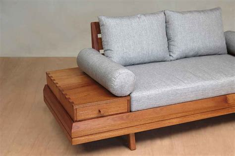 Floating Love Seat Handmade Two Person Sofa Masaya Co
