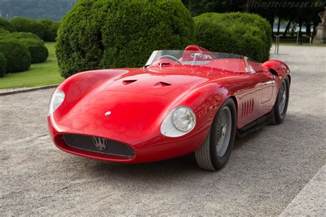maserati 300s 1958 maserati 300s chassis 3083 ultimatecarpage com