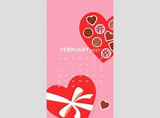 Valentines February 2017 Calendar Wallpaper Sarah Hearts