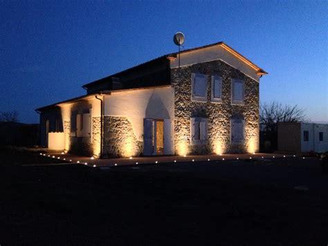 ingresso villa phili foto illuminazione facciata di ad sistem di alessandro d